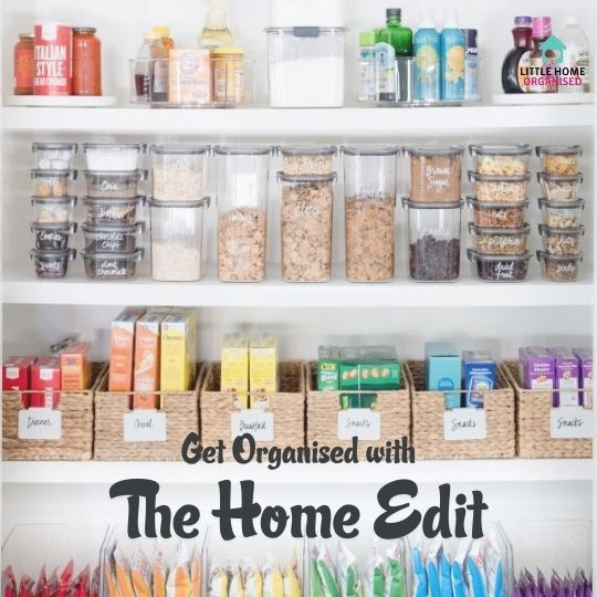Get Organised with the Home Edit