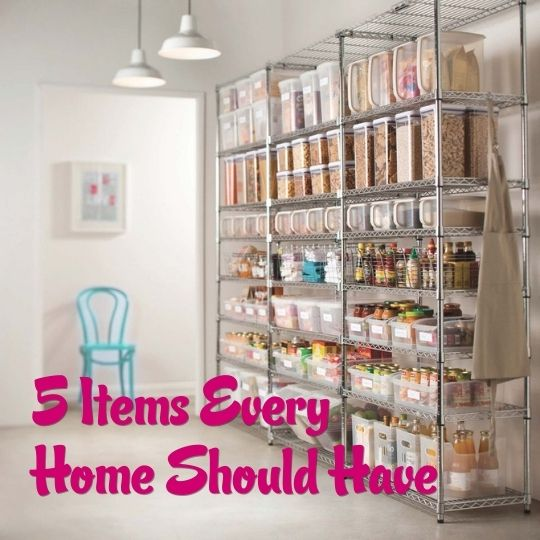 5 Items Every Home Should Have